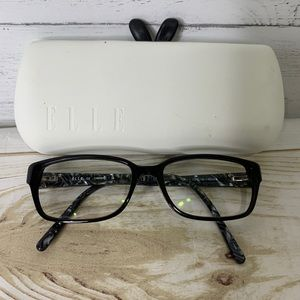 Elle Eyeglasses Black EL13370